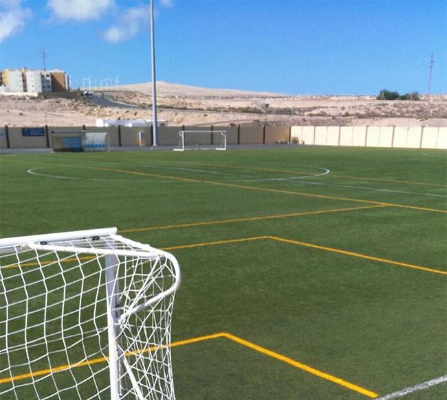 El Ayuntamiento de Pajara sigue acondicionando las instalaciones deportivas