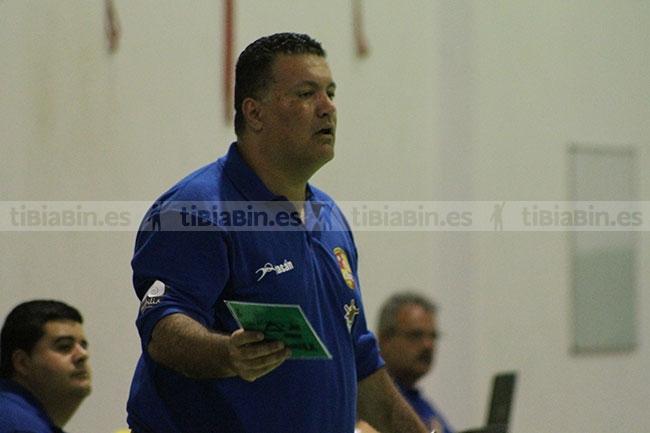 """Casimiro Tejera: """"Hemos hecho un buen partido, pero a rágafas"""""""