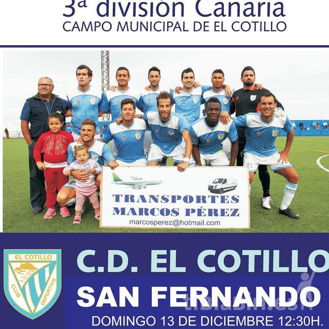 Cartel C.D. Cotillo – U.D. San Fernando