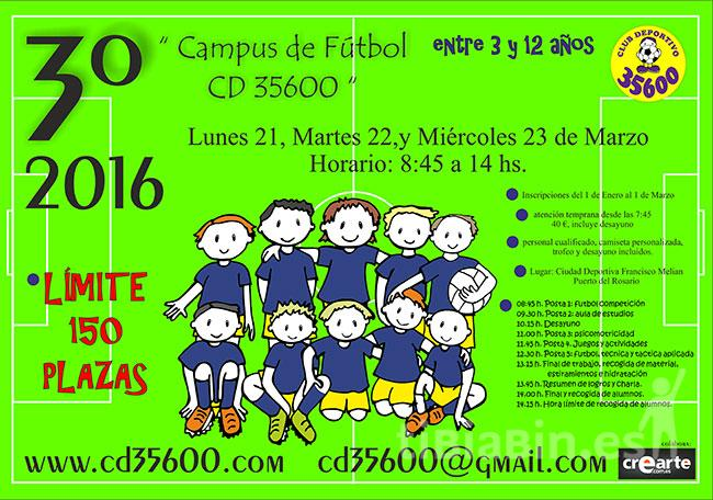 3º Campus de fútbol CD 35600