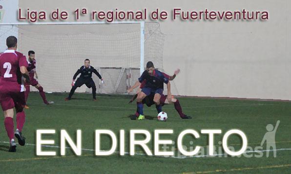 ¡Sigue en directo la 16ª jornada de Liga en 1ª Regional!