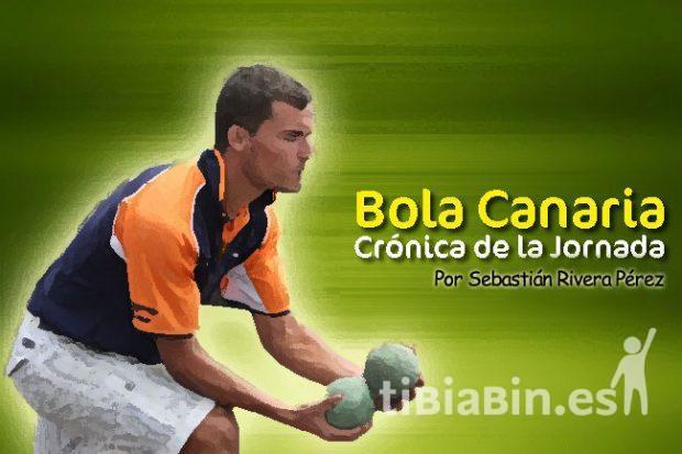 Resultados 3ª jornada Bola Canaria