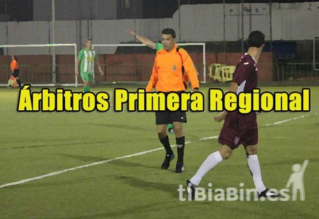 Árbitros 9ª Jornada 1ª Regional