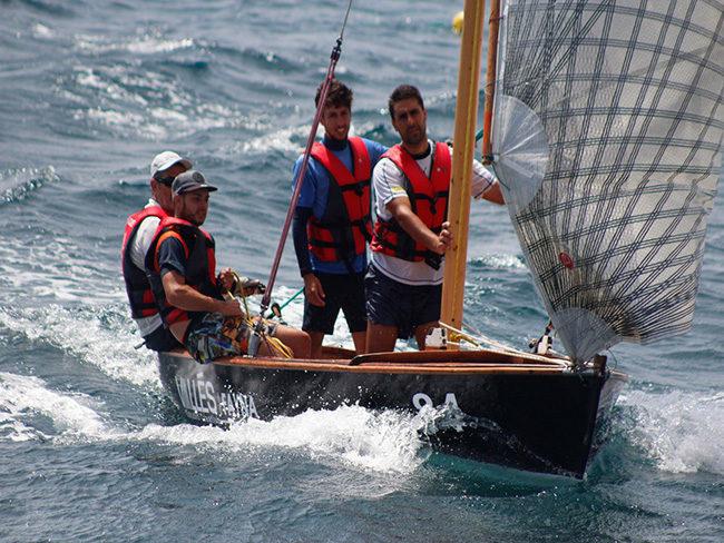 El Fayna se apunta la victoria con autoridad en la tercera regata