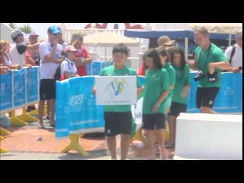 Vídeo desfile Encuentro Regional Benjamín de natación (Lanzarote)