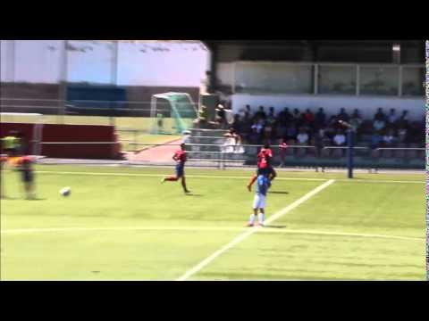 Vídeo gol de Rosmen (Unión Puerto 0 – Lanzarote 1)