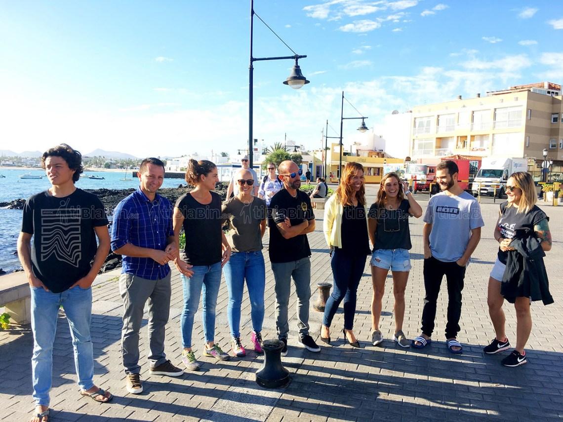 Los mejores riders y condiciones aseguran el espectáculo en el Campeonato de España de Pádel Surf en Fuerteventura este fin de semana