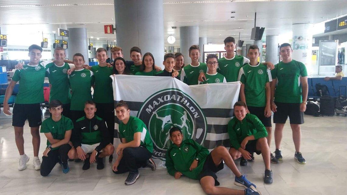 El Club Deportivo Maxoathlon, con 24 podios, primero en el medallero de los campeonatos de Canarias de Atletismo Sub16, Sub18 y Pruebas Combinadas