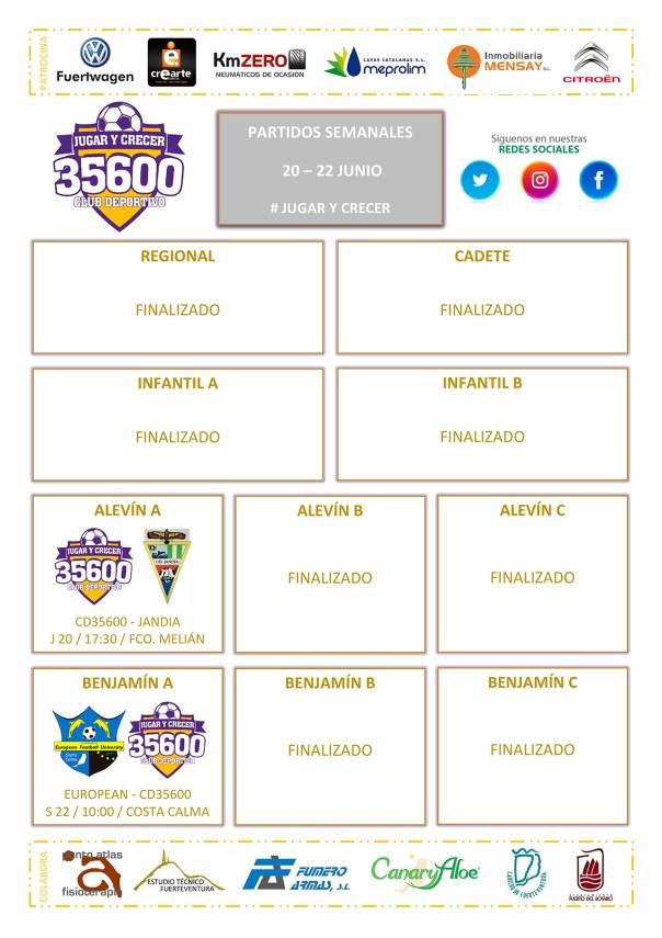 Cuadrante Partidos CD 35600