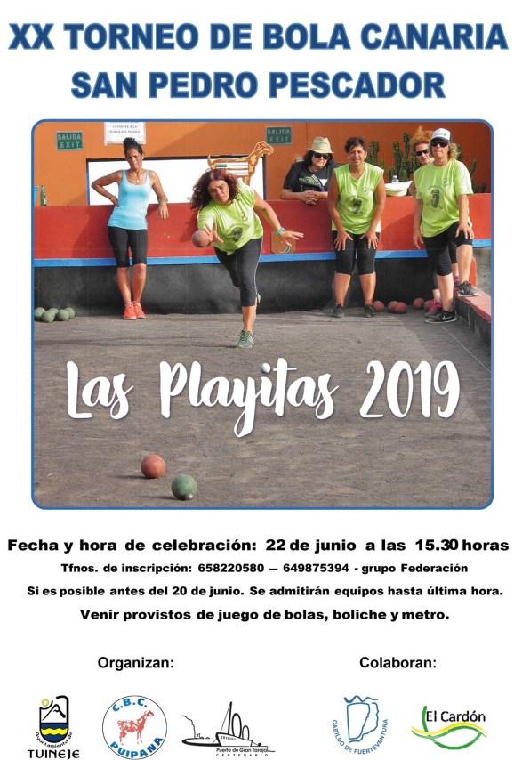 XX Torneo de Bola Canaria San Pedro Pescador