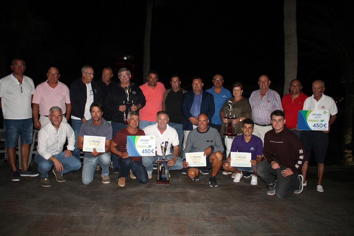 La tripulación majorera de la embarcación Milugato gana el XVI Torneo  de Pesca de Altura Puerto Castillo