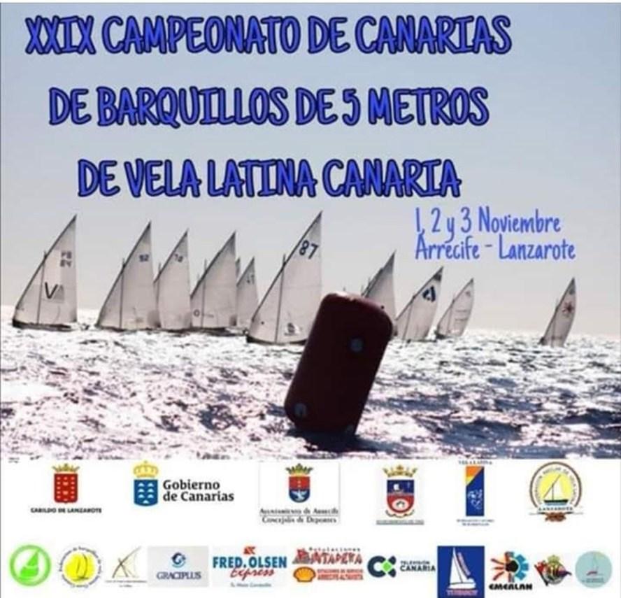 Cartel Vela Latina Canaria