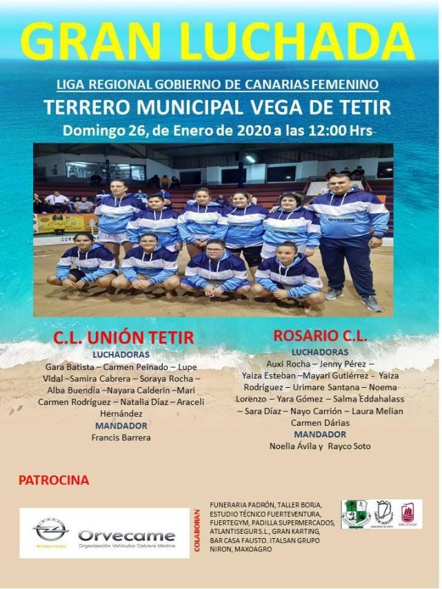 Cartel CLU Tetir – Rosario CL