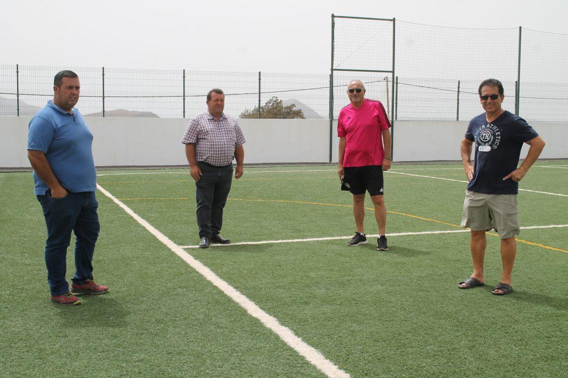 El campo de fútbol de Valles de Ortega podría formar parte del circuito de entrenamiento del director deportivo Paco Lobato