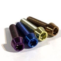 M5 x 20mm titanium bolts