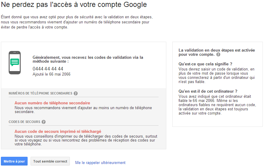 Google Account Check