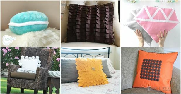 diy accent pillows - throw pillows