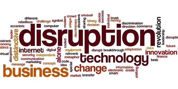 Disruptie?  Nee, stagnatie!