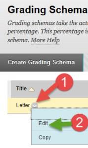 grading schema