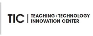TIC - Teaching / Technology Innovation Center Logo