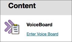 Voiceboard Blackboard Classic