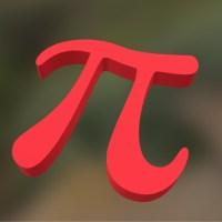 Símbolo de Pi en 3D