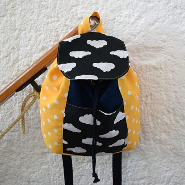 Mochila Yellow & Clouds