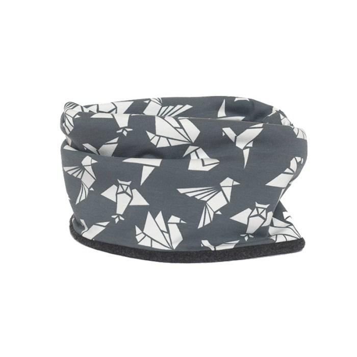 Cuello polar Grey Origami – Tica Mica ae19945e24d
