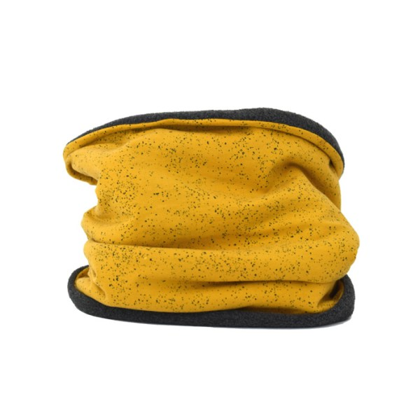 Cuello polar para adulto en color amarillo mostaza, ideal para invierno