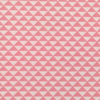Estampado Triángulos rosa