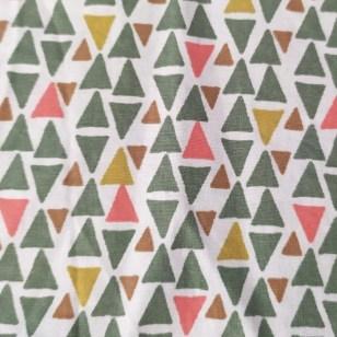 Estampado Triángulos Verde