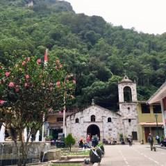 Iglesia de Aguas Calientes