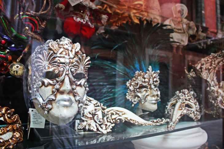 photo of masquerade masks