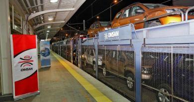 Omsan Lojistik, Deniz Altından Otomobil Taşıyarak Tarihe Geçti