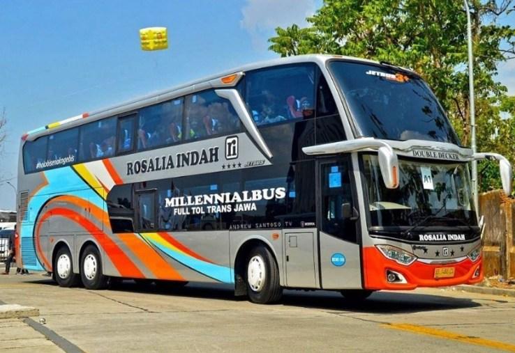 Tiket Bus Double Decker Rosalia Indah