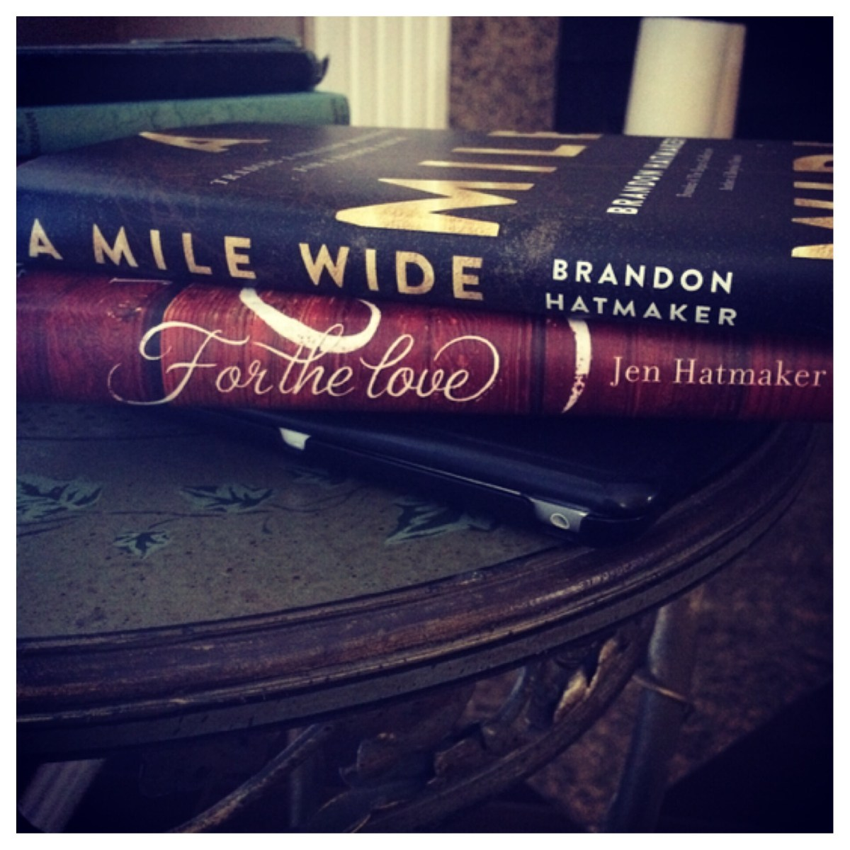 Book Review: A Mile Wide, Brandon Hatmaker