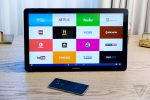 tablet with SVOD service apps