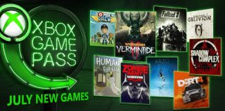 July 2018 Xbox Game Pass