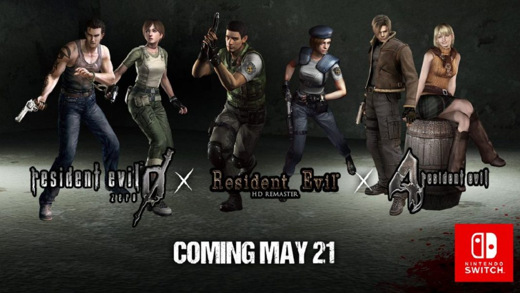Resident Evil 0, 1 and 4 Are Coming to Nintendo Switch