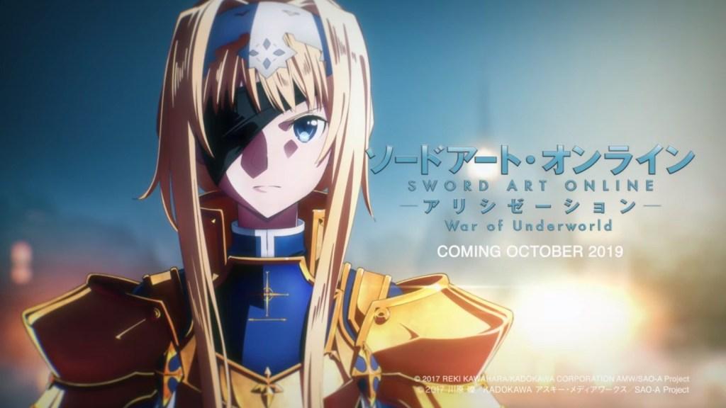 Sword Art Online: Alicization-TICGN