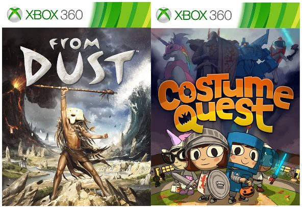 From Dust and Costume Quest Are Now Backward Compatible