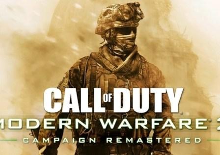 Cod modern warfare 2 remastered tic games