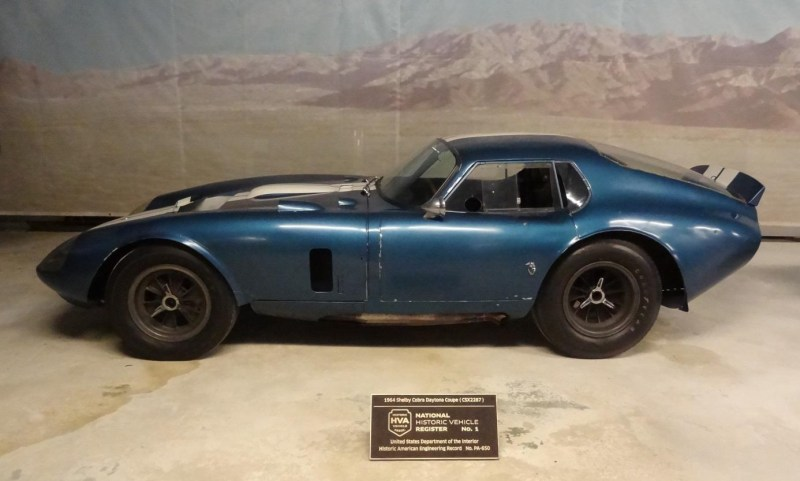 1964 Cobra Daytona Coupé im Simeone Museum Philadelphia, Nr. 1 des National Historic Vehicle Register Fofo Martin Schröder