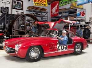 300 SL mit Latenight-Talker Jay Leno
