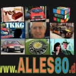 yes Tortie, Renault R4, TKKG, Frank Elstner, Ford Sierra Cosworth RS500, Dallas, Mercedes 190 / 190E