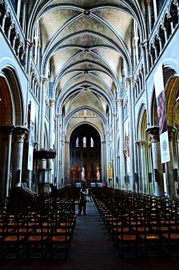Lausanne Cathedral - Inside