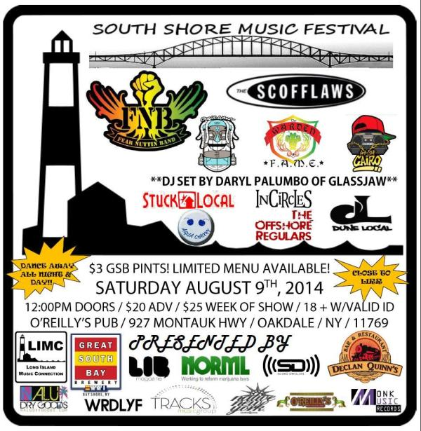 South Shore Music Festival Tickets in Oakdale, NY, United ...
