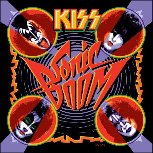 Kiss Sonic Boom Artwork