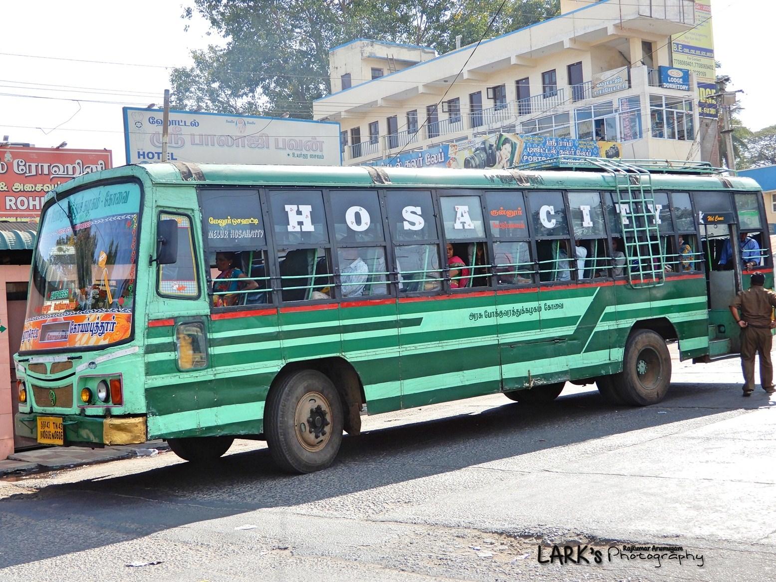 Melur Hosahatty – Coimbatore [Hosacity Express]