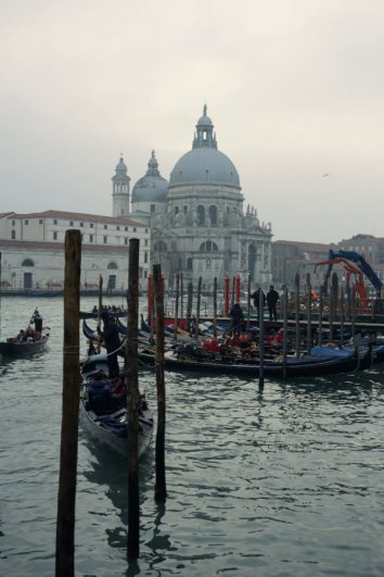 Santa Maria della Salute, Roman Catholic Church in octagonal shape